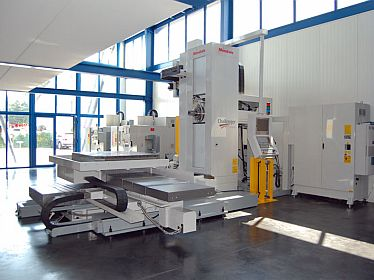 CNC Horizontal boring mills, table type