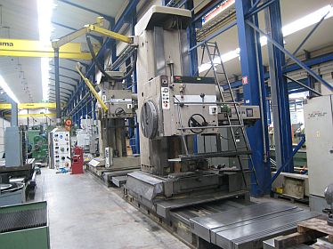 Horizontal Boring Mills, floor type