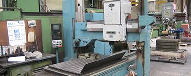 Coordinate radial drilling machines